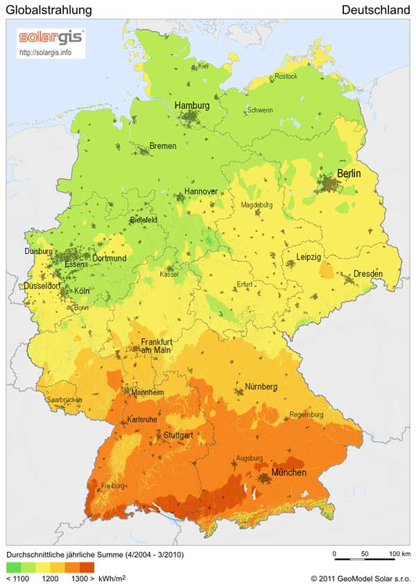 energía solar en Alemania