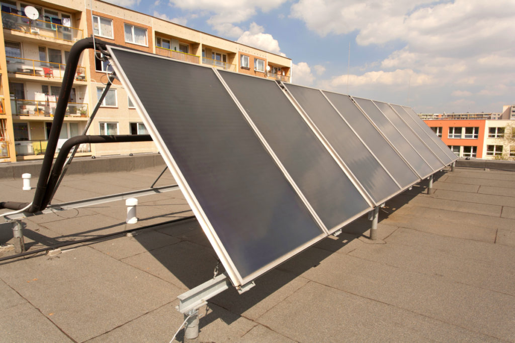 placas solares para supermercados
