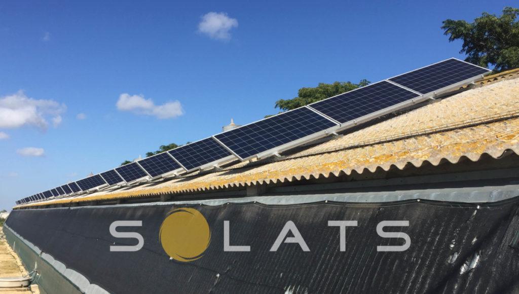 energía solar para la industria del frío