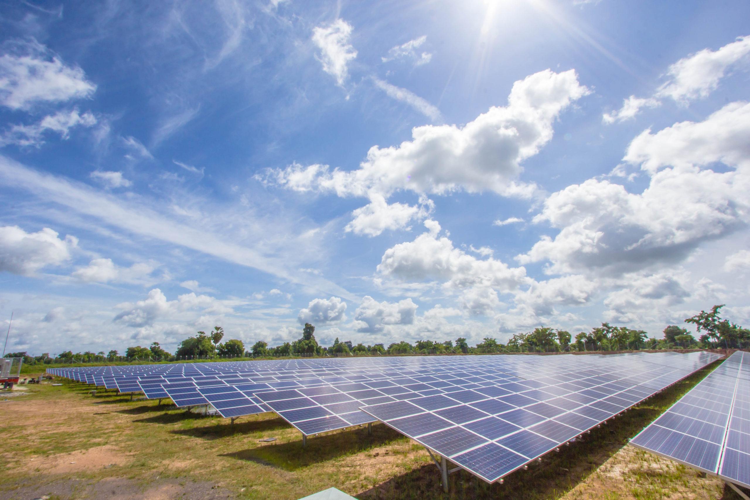 Que es un parque solar fotovoltaico